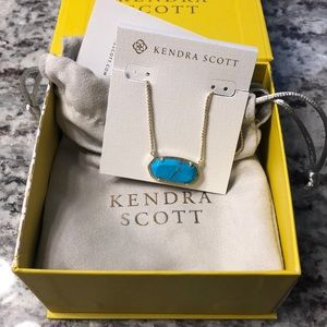 NWT KENDRA SCOTT DELENEY NECKLACE